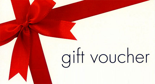 Our Gift Vouchers are now available online!!